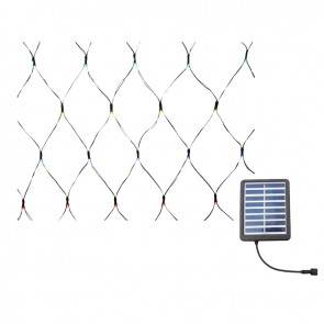 wholesale dealer 7ad14 0c5ed Solar 2.0m LED Net Fairy Lights